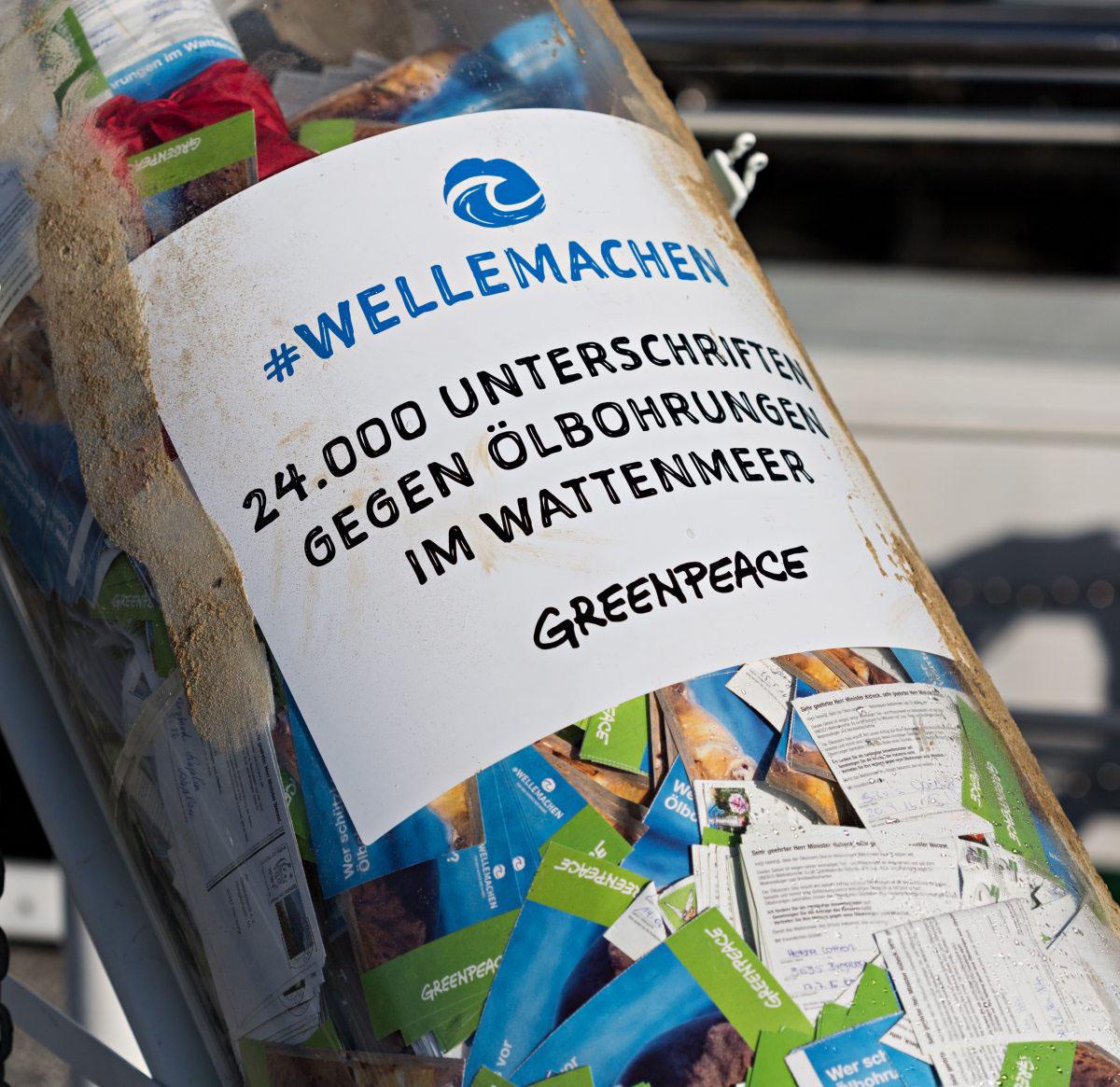 24.000 Protestkarten. Neben dem Gutachten von Greenpeace ist das ein überzeugendes Argument.