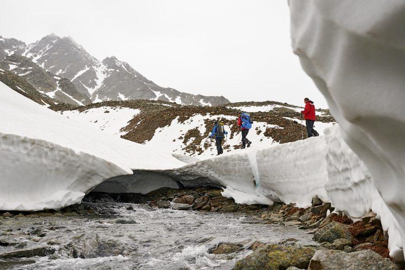 Greenpeace fand PFC selbst in abgelegenen Gebieten wie der schweizerischen Macun-Seenplatte.