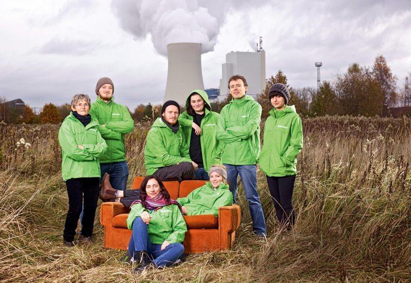 Aktiv in Rostock (v. l.): Ingrid Palme, Florian Becker, Malte Brockmann, Maria Burmeister, Dennis Bunke, Paula Schoof und vorn Dathrian Jahn und Lone Anders
