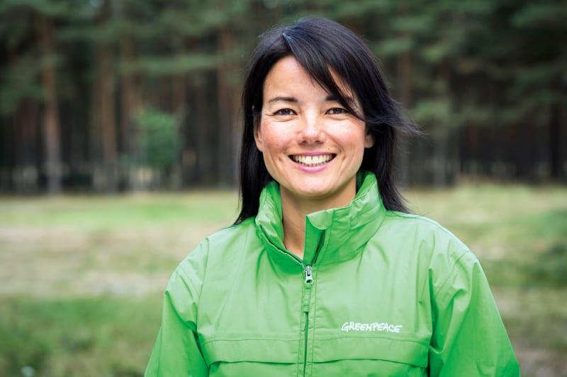 Sweelin Heuss, Geschäftsführerin Öffentlichkeit und Fundraising bei Greenpeace