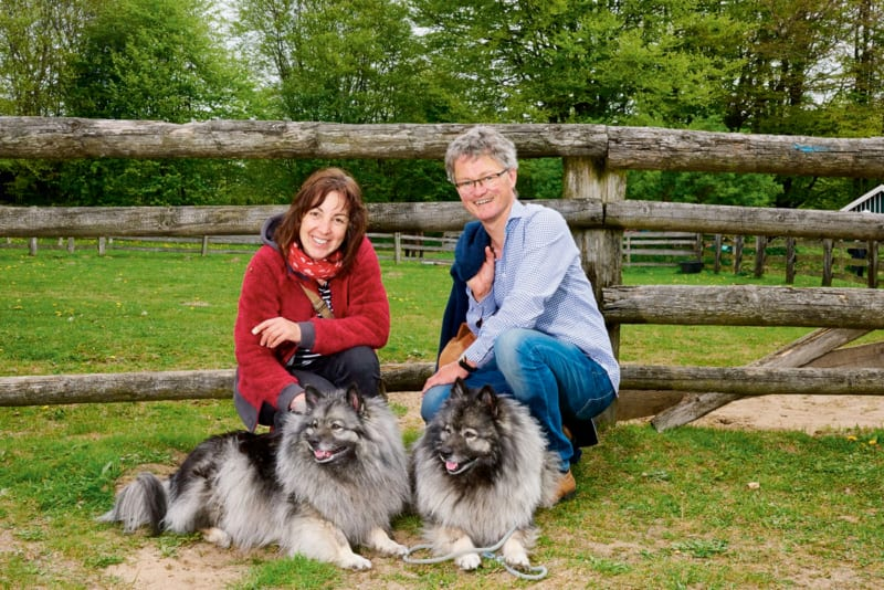 Das tierliebende Ehepaar Müller aus Uelsby gehört seit 2017 zum Stifterkreis der Umweltstiftung Greenpeace