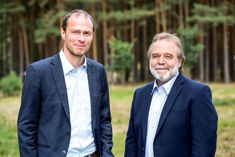 Martin Kaiser (links), Roland Hipp, Geschäftsführender Vorstand Greenpeace e.V.