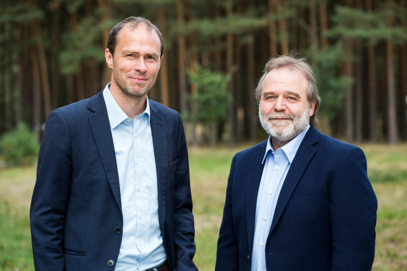 Martin Kaiser (links), Roland Hipp, Geschäftsführende Vorstände Greenpeace e.V.