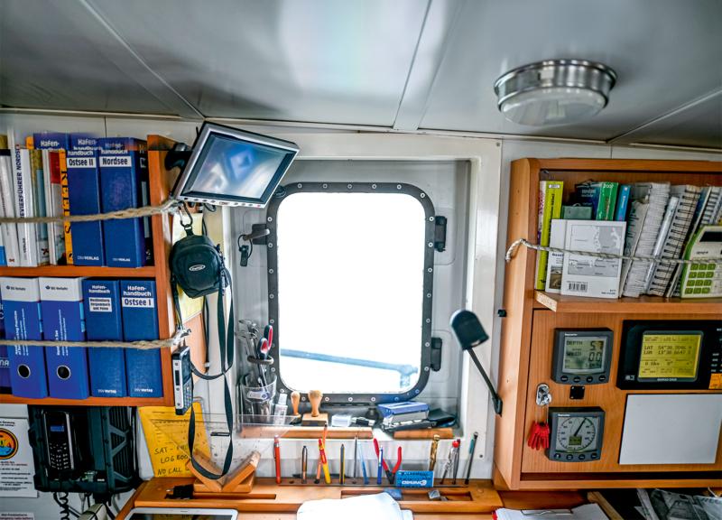 Alles, was an Bord nicht fest installiert oder verschraubt ist, muss gesichert werden