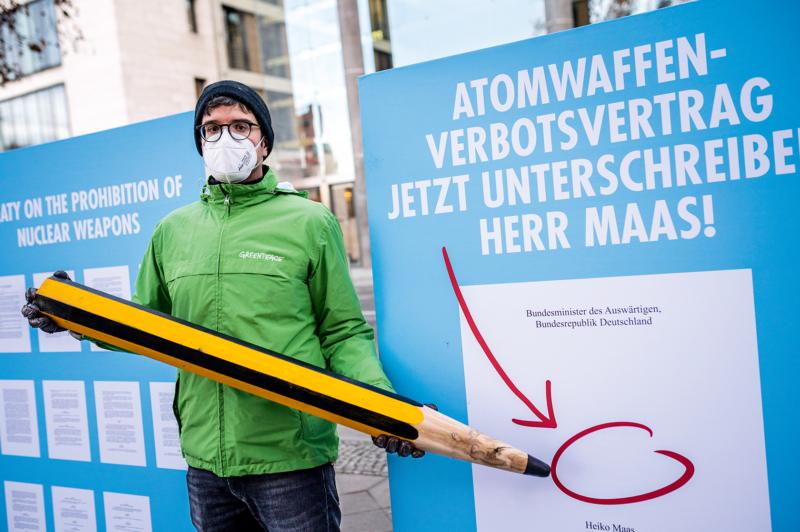Deutschland muss den Atomwaffenverbotsvertrag noch unterzeichnen